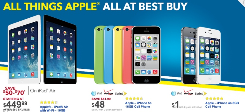 More Black Friday Apple Deals Announced From Best Buy Walmart