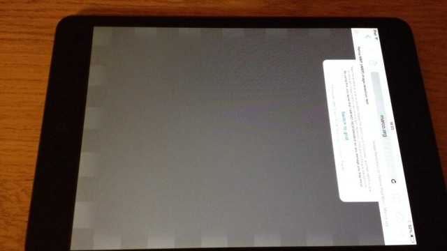 Apple's New iPad mini Suffers From Retina Display Image Retention Problem