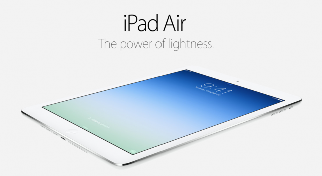 Adoption Of Apple's iPad Air Is Already 5 Times That Of The iPad 4
