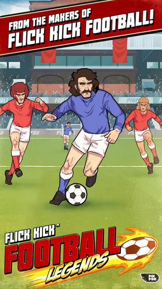 New Flick Kick Game Launches In The App Store: Football Legends