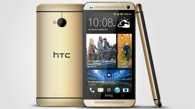 HTC Follows Apple's iPhone 5s, Launches Gold HTC One Handset In Europe