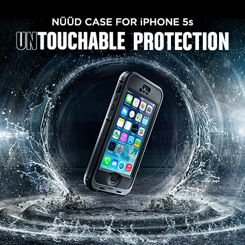 LifeProof's nüüd Case For iPhone 5s Offers Waterproof, Touch ID-Compatible Protection
