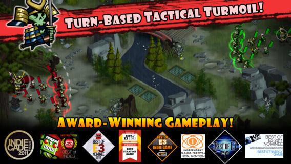 Skulls Of Shogun Brings Fun, Fast-Paced Turn-Based Gaming To iOS