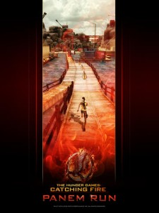 Spark A Revolution As The Girl On Fire In Hunger Games: Catching Fire - Panem Run