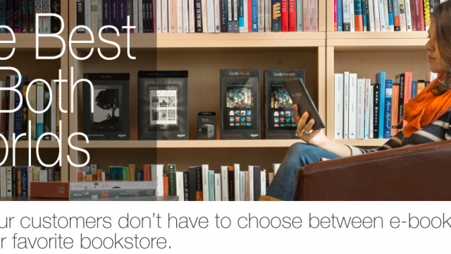 Amazon Wants To Partner With Remaining Booksellers To Sell More Kindles
