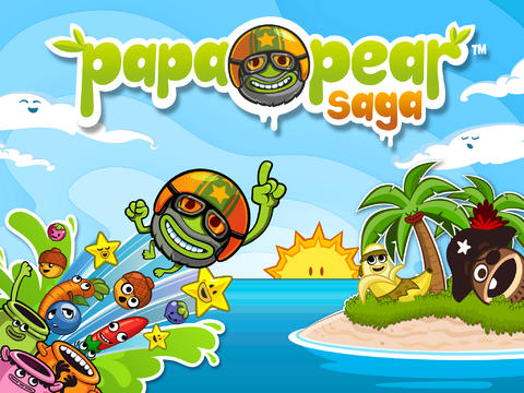 Peggle-Like Papa Pear Saga Bounces Into iOS As King's Next Potential Smash Hit
