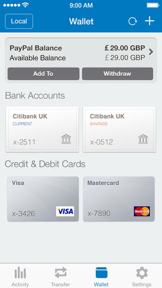 So Long, Wallet-Like Faux Stitched Leather: PayPal App Gets Redesigned For iOS 7