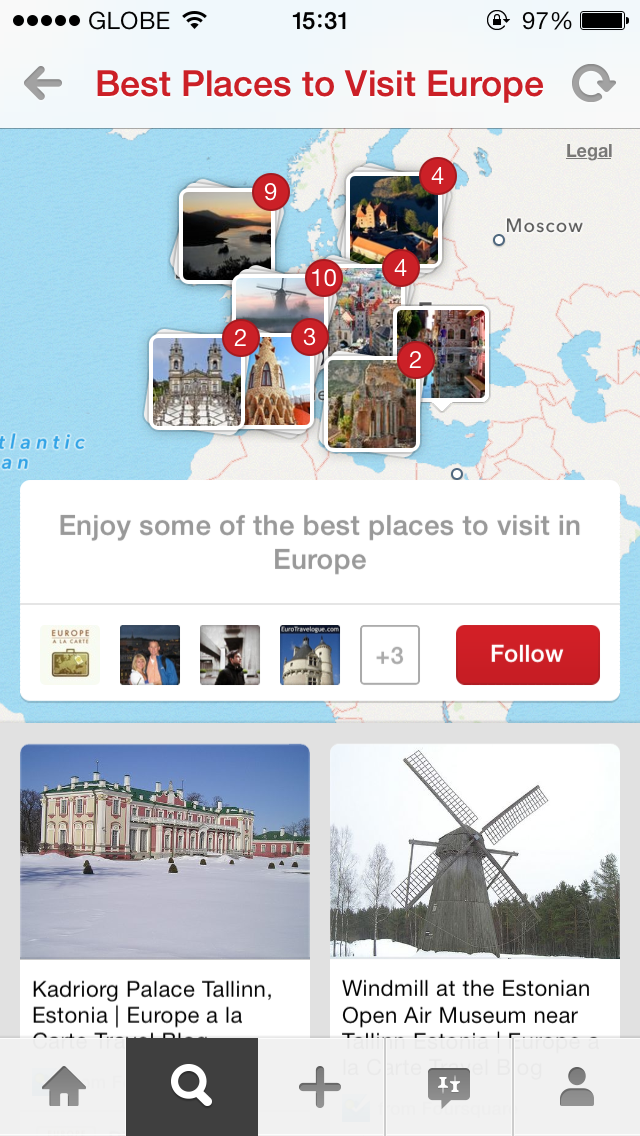 Oh, The Places You'll Go With Pinterest's New Travel-Oriented Place Pins Feature