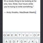 PlainText Note-Taking App Goes 2.0 For iOS 7, Finally Gains iCloud Support