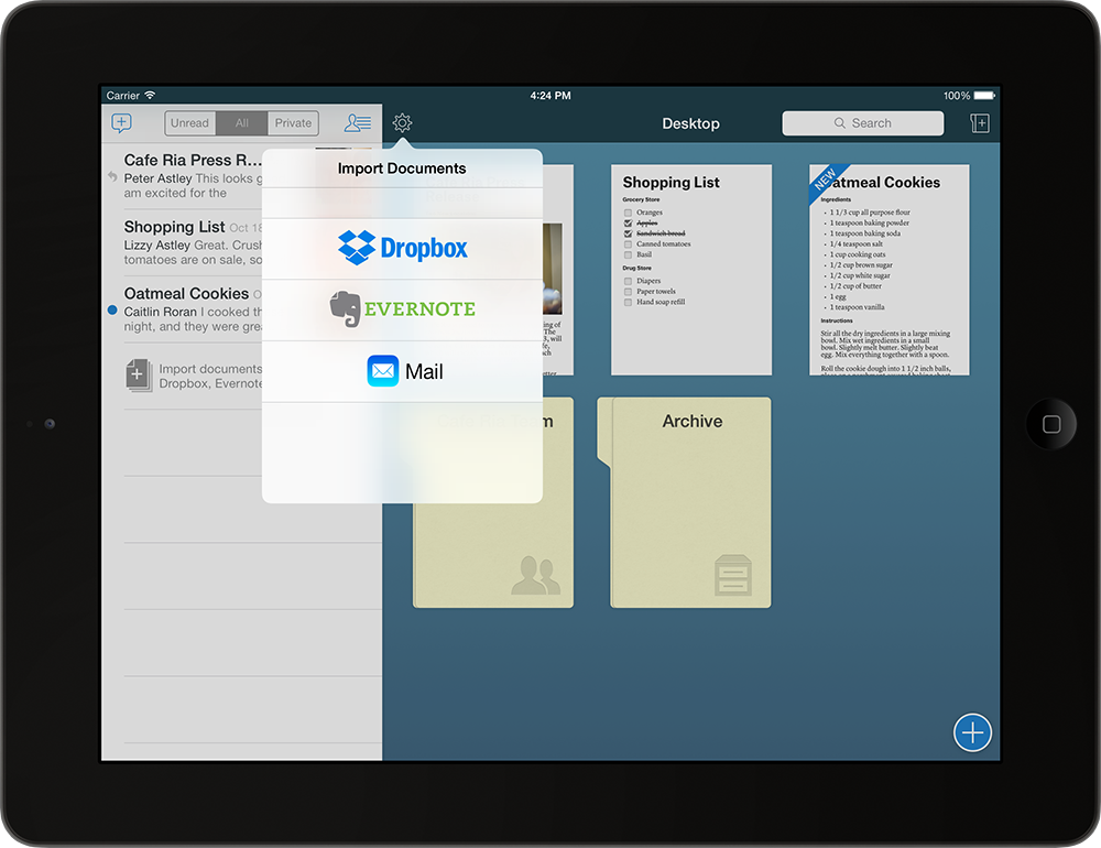 Collaborative Word-Processing App Quip Gains Document Import, Inbox Filters And More