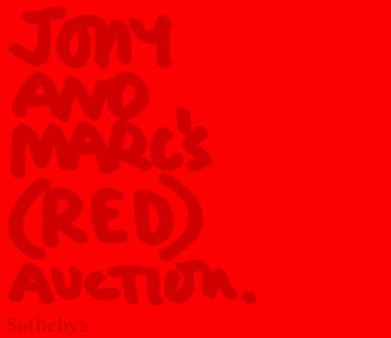 Jony Ive And Marc Newson's (RED) Charity Auction Exceeds Expectations