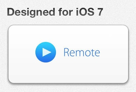 Apple Further Teases Remote App's iOS 7 Redesign With App Store Promotional Banner