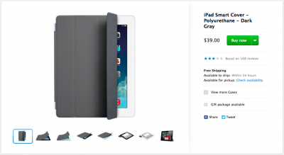 Apple Discontinues All But Dark Gray Smart Covers, Cases For Older 9.7-Inch iPads