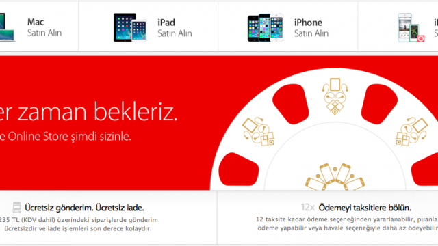 At Long Last, Turkey Gets An Apple Online Store
