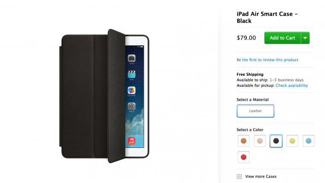 Is Apple's Smart Case For iPad Air Worth The Cash?