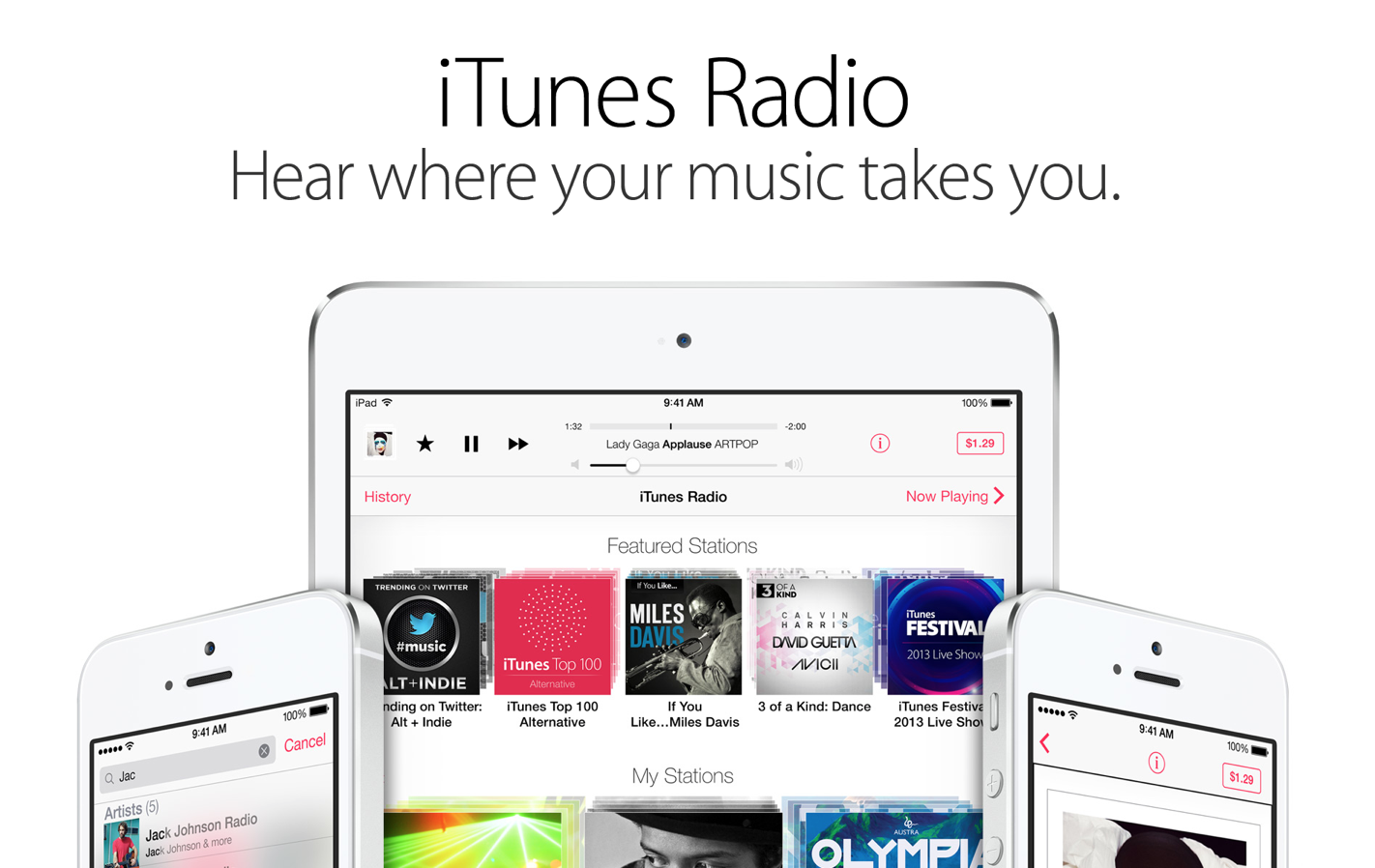 Surprise: iTunes Radio Doesn't Seem To Be A Pandora-Killer, After All