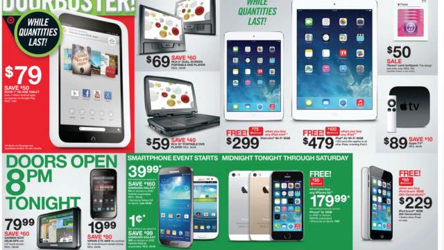 Target Previews Impressive Apple Deals In Black Friday Ad