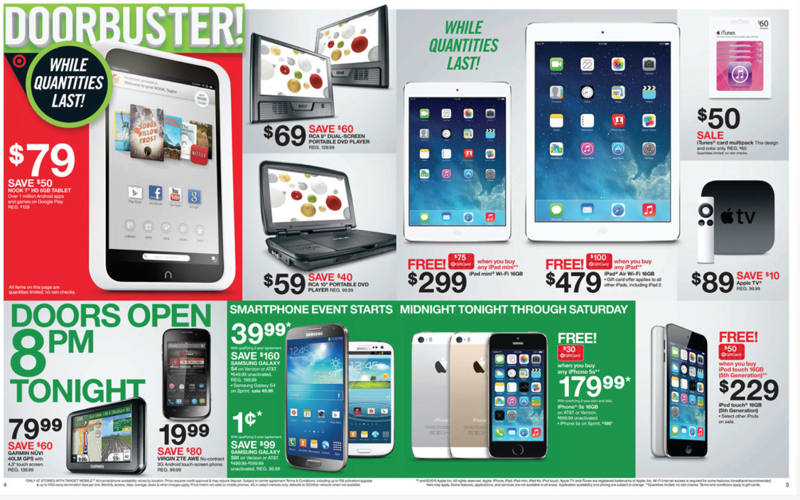 Target Previews Impressive Apple Deals In Black Friday Ad