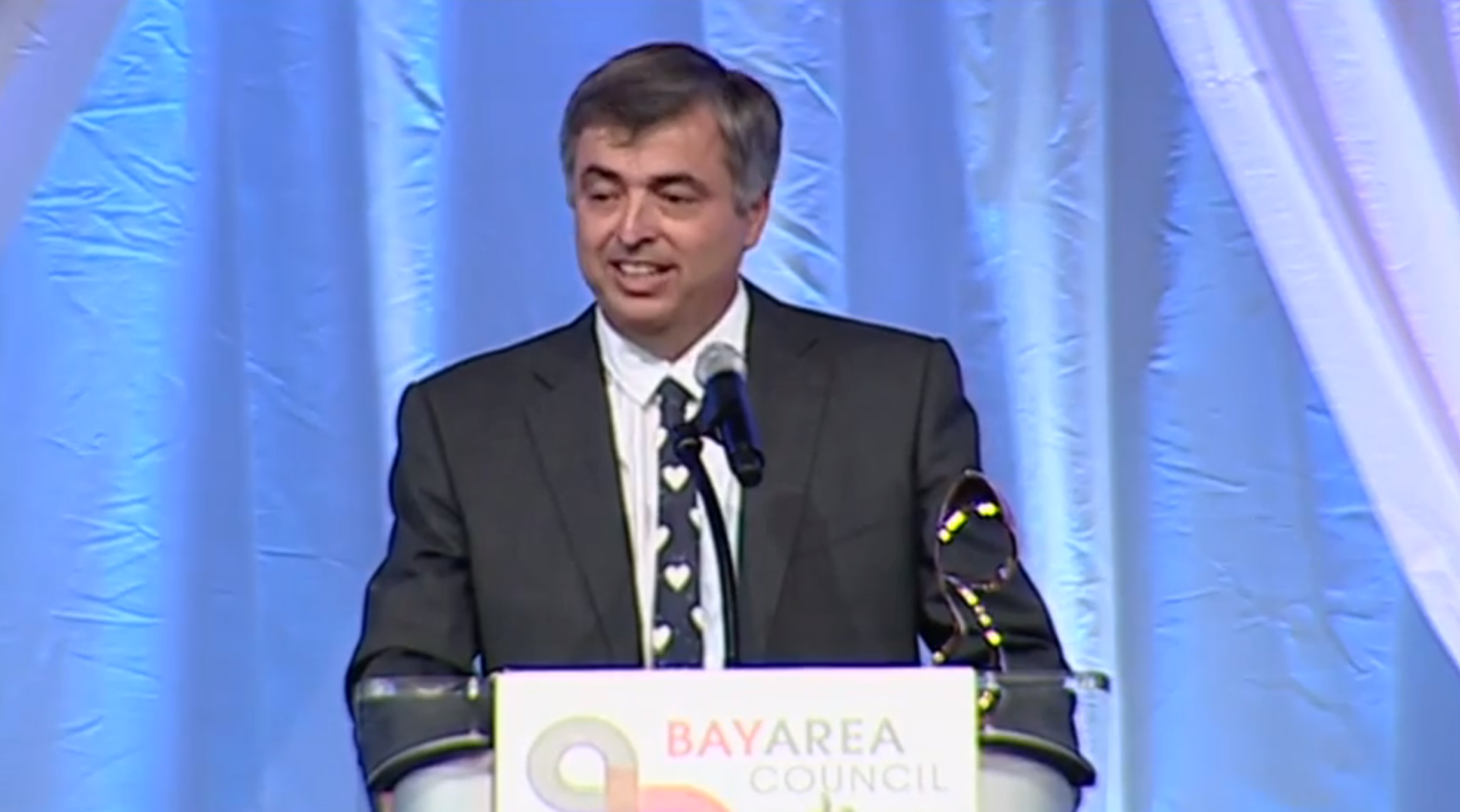 Steve Jobs Inducted Into Bay Area Business Hall Of Fame, Eddy Cue Accepts Award