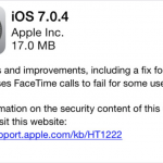 Relax: Apple's iOS 7.0.4 Is Jailbreak Safe, Hacker Confirms