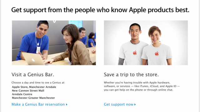 Apple Now Encourages Home Troubleshooting At Genius Bar Web Page