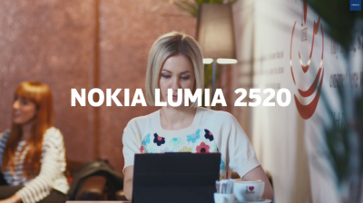 Nokia's New Lumia 2520 Ad Challenges The iPad Over Its Lack Of A Keyboard