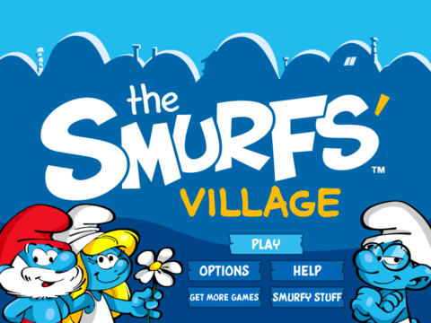 Have More Smurfy Fun With Clown Smurf And Magician Smurf In Smurfs' Village