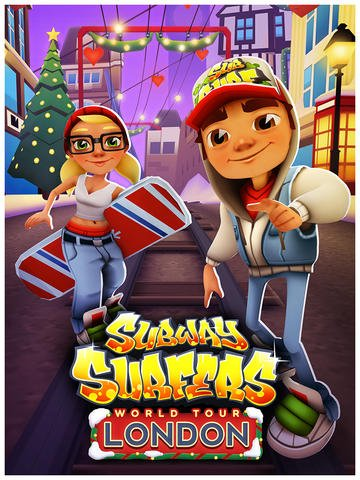 Surf The Snow-Covered City Of London This Holiday Season In Subway Surfers