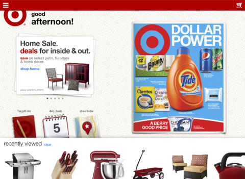 In Time For The Holidays, Target Updates Its iOS Apps With Shopping Enhancements