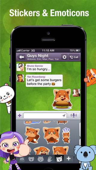 Viber 4.0 Introduces Sticker Market, Push-To-Talk And Other New Features