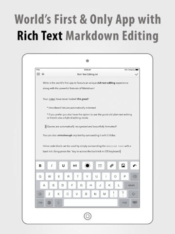 Write For iPhone And Write For iPad Both Updated With Major Improvements