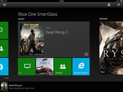 Microsoft Releases Xbox One SmartGlass iOS Companion App For Its Next-Gen Console