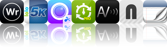 Today's Apps Gone Free: WriteRoom, Easy 5K, Splashtop CamCam And More