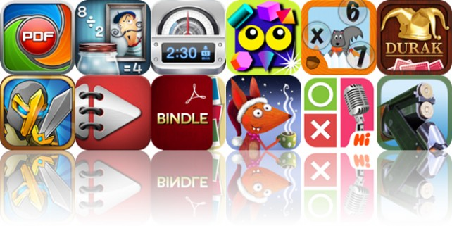 Today's Apps Gone Free: PDF PROvider, Mystery Math Museum, Parkbud And More
