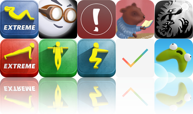Today's Apps Gone Free: Situps XT, Lums HD, Pic A Phrase And More