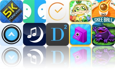 Today's Apps Gone Free: 5K Forever, OLO, TeeVee 2 And More
