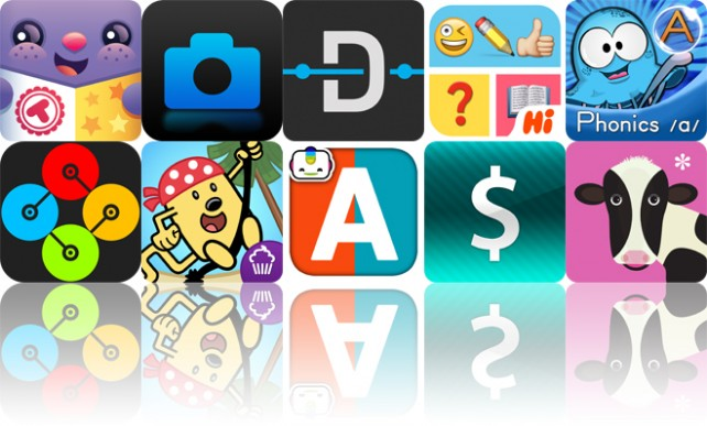 Today's Apps Gone Free: Toonia Cardcreator, Blux Camera, Dash And More