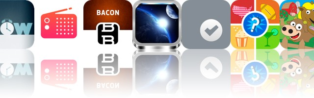 Today's Apps Gone Free: Now Alarm Clock, Radium, Better Bacon And More