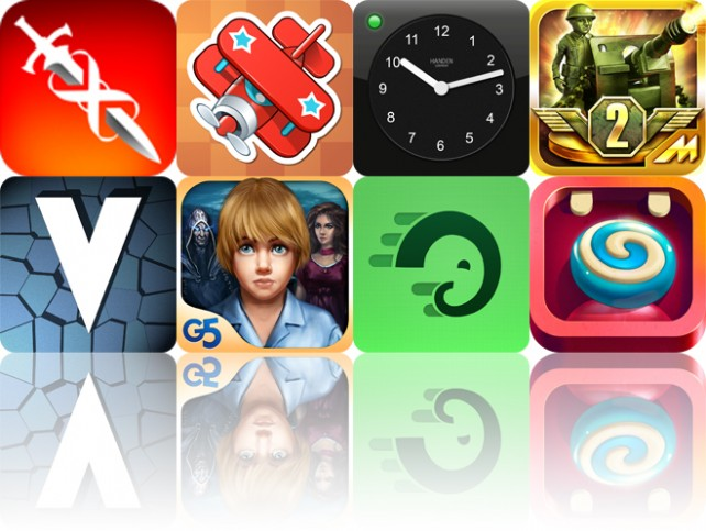 Today's Apps Gone Free: Infinity Blade, Help Me Fly, Alarm Clock And More