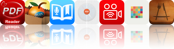 Today's Apps Gone Free: PDF Reader, Fooducate Plus, Audiolio And More