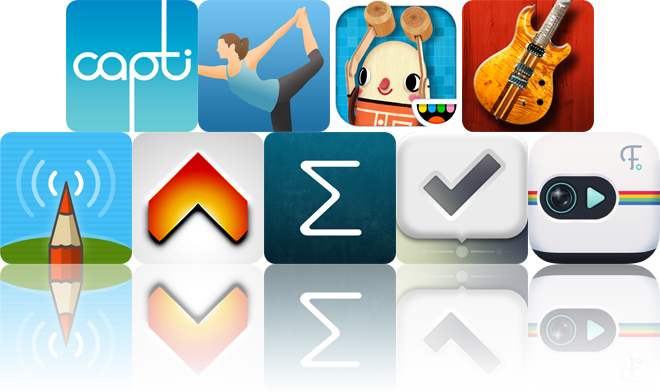 Today's Apps Gone Free: Capti Narrator, Pocket Yoga, Toca Builders And More