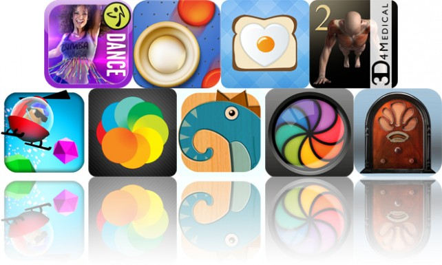 Today's Apps Gone Free: Zumba Dance, Air Hockey, LaLa Breakfast And More