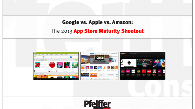 Apple's App Store Leads, But Each Of The Big Three Could Be Improved