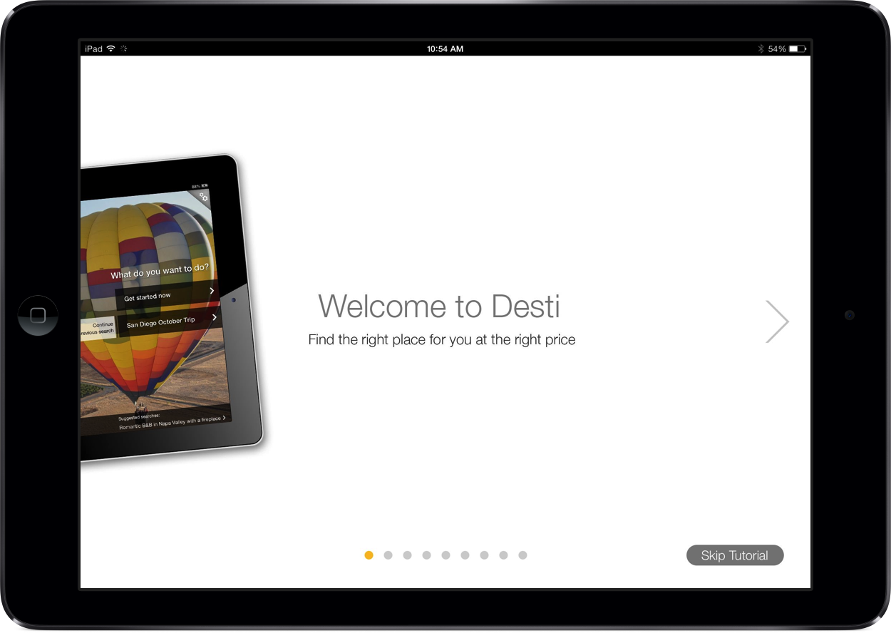 New Features Are Added To Desti, The Travel Companion App For iPad
