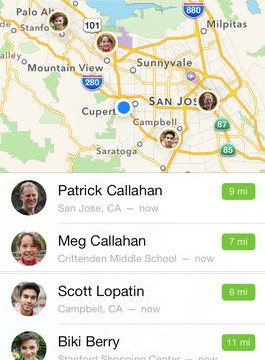 Apple Updates Find My Friends With An iOS 7 Inspired Design
