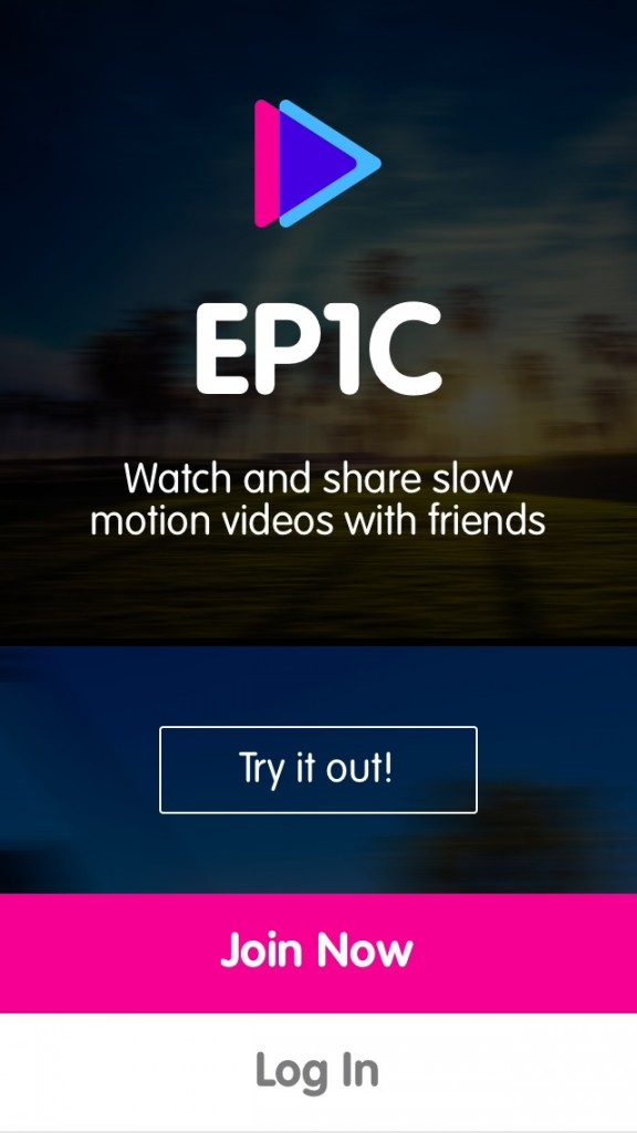 A Social Network For Sharing Slow-Motion Videos Would Be EPIC