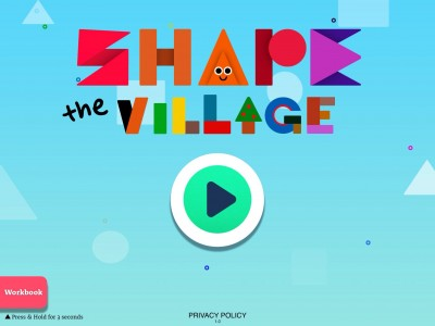 Your Child Will Have A Blast Learning Shapes In Shape The Village