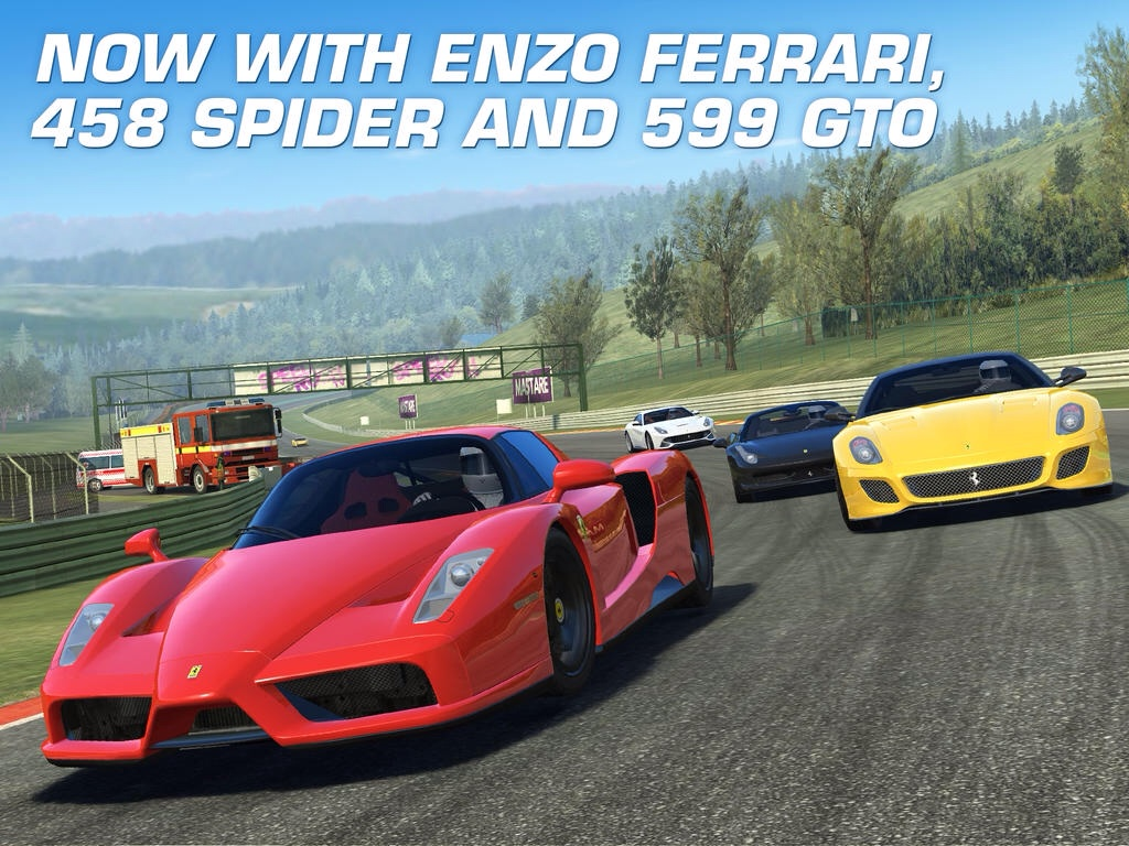 Real Racing 3 Revs Up With New Ferrari Cars And New Features