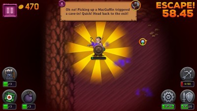 Collect The Prize And Escape In A Hurry In MacGuffin Quest