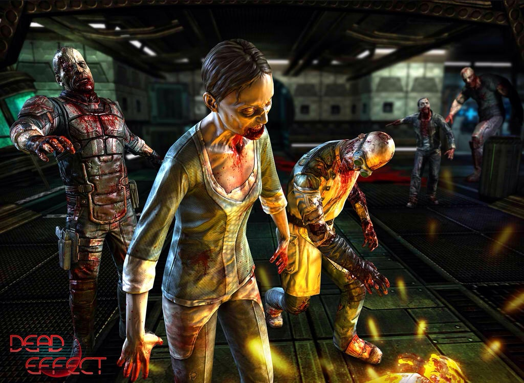 Zombie-Filled Sci-Fi First-Person Shooter Dead Effect Gets First Ever Update